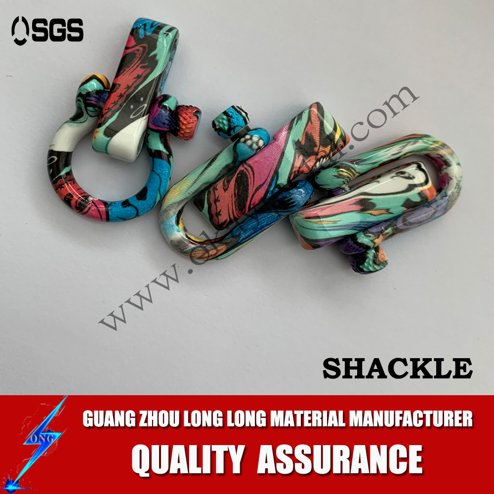 colorful printing shackles Popular D Shackle With Various Styles,D Type Shackle