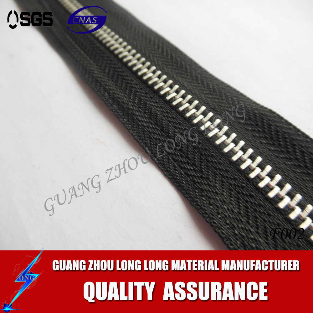 Wholesale High Quality Custom Metal Zipper For Boot