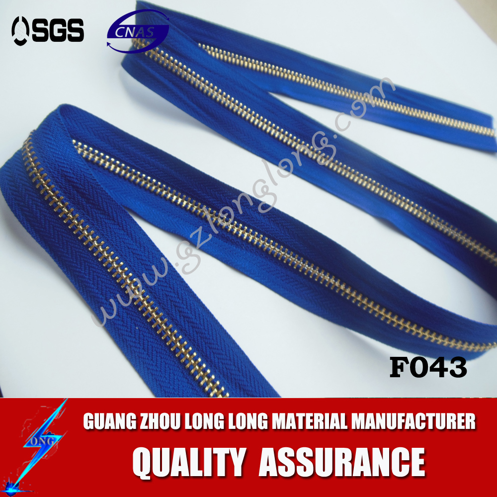 High Quality Zippers For Clothing And Jeans Nylon Zipper