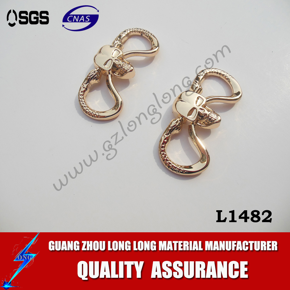 Fashion Sandal Buckle / Metal Buckle With Rhinestone Shoes Buckle