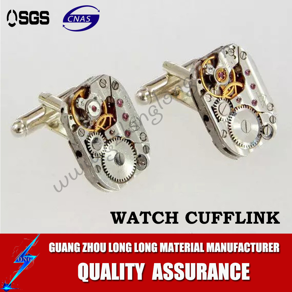 China Supplier Functional Men's Watch Movement Cufflinks