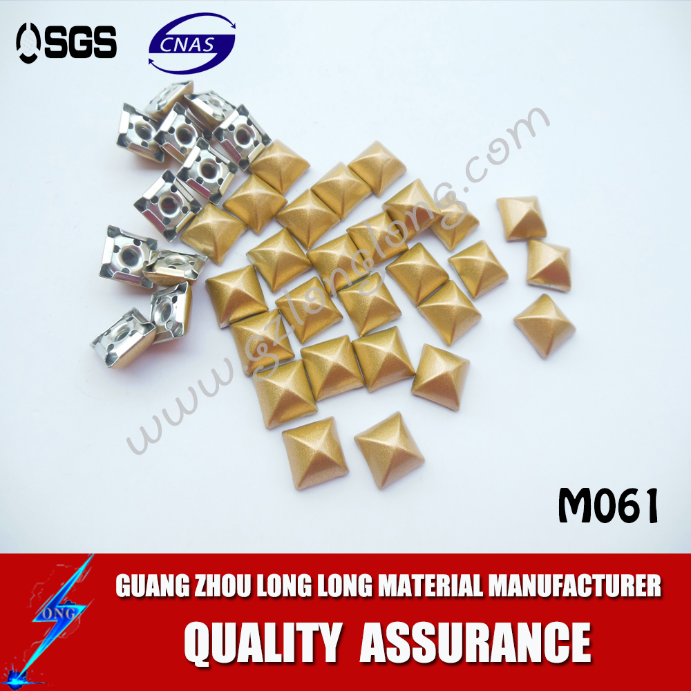 Wholesale Decoration Pyramid Metal Stud Rivet Nailhead For Garment And Shoes