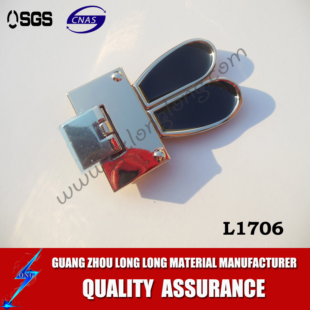 China Super Factory Custom Handbag Lock  Bag Accessories