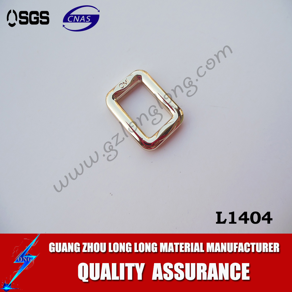 For Bags Nickel Palted Welded Square Buckle