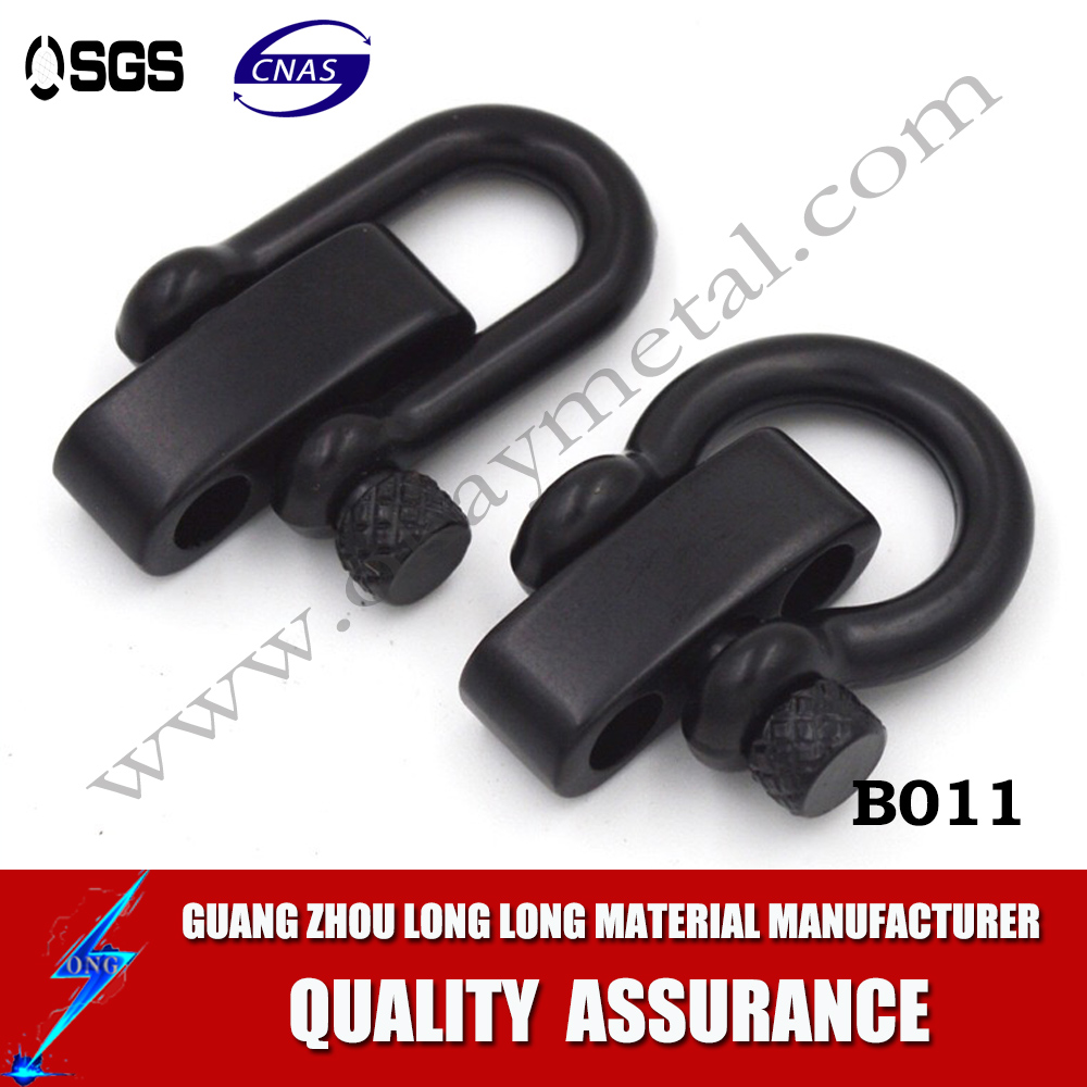 factory supplied clevis shackle