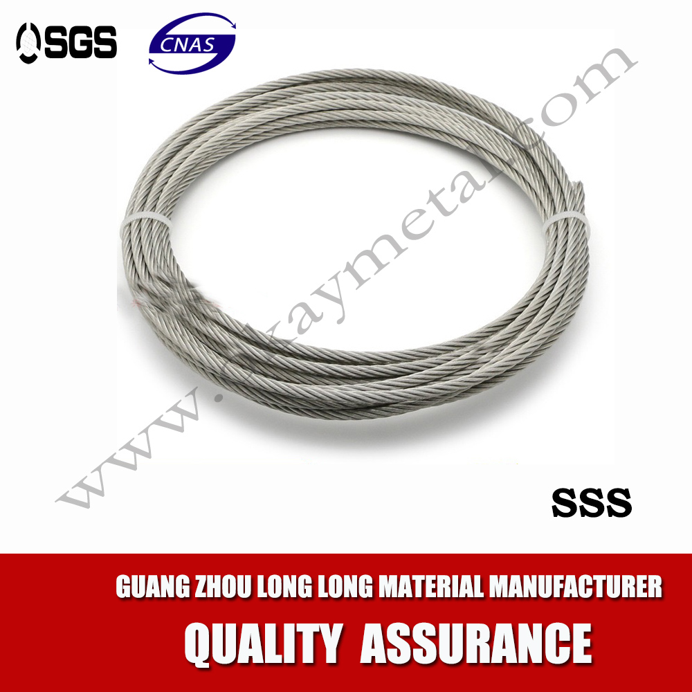 High tensile galvanized steel wire rope price 12mm-20mm