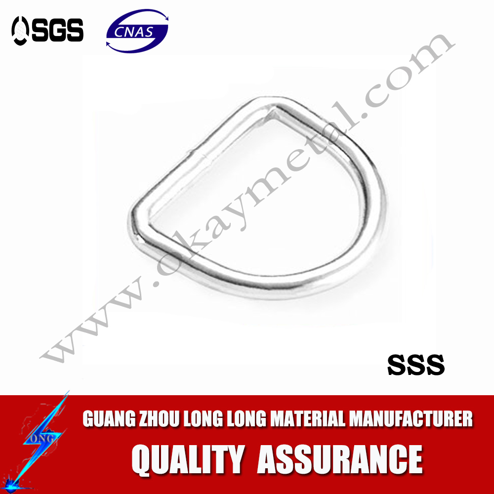 Stainless Steel Welded D Ring Bent Type, Rings