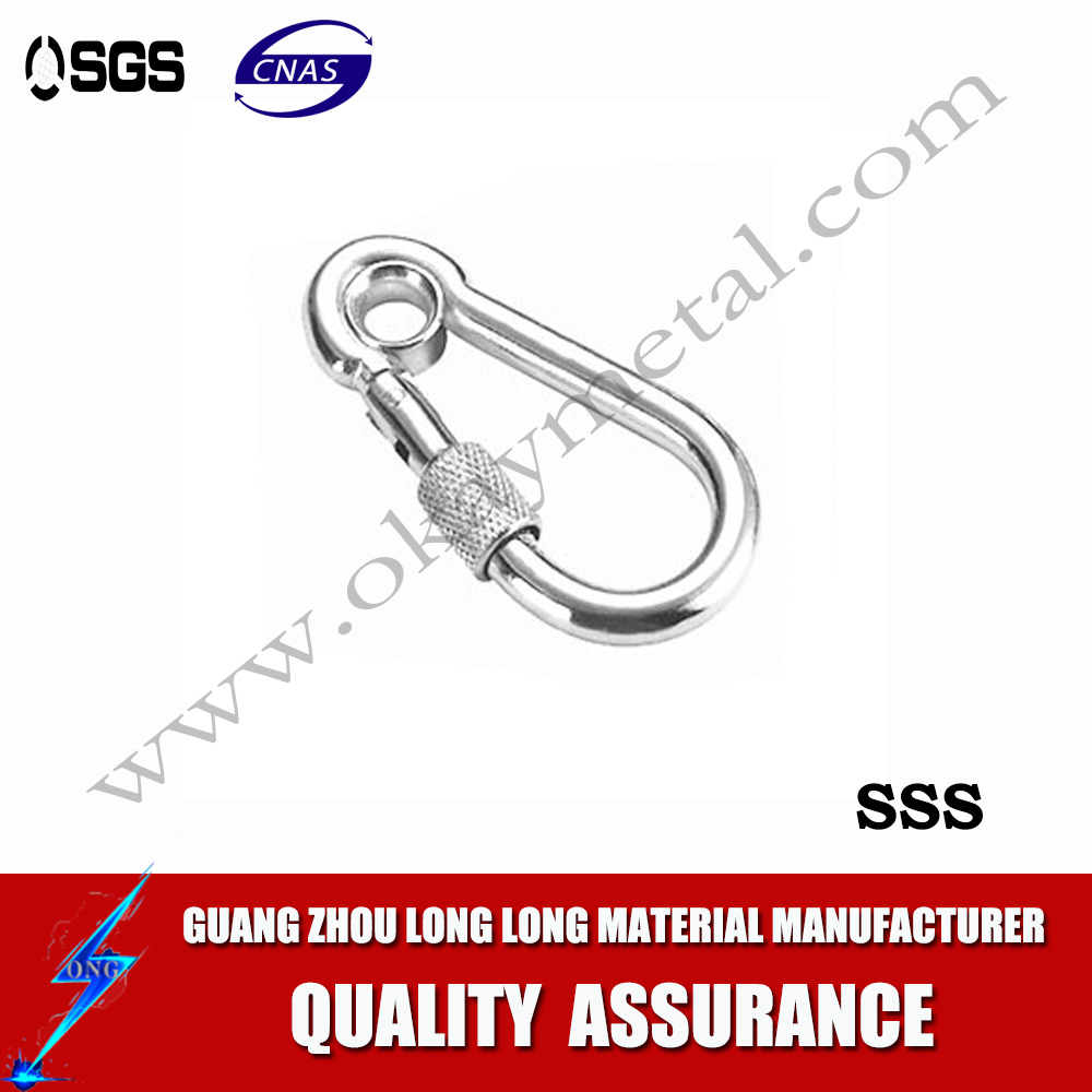 Zinc Plated cold formed steel Carabiner