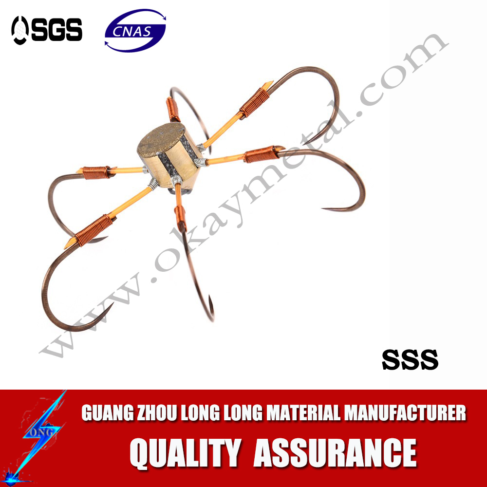 Super Tackle Fish Hook Custom Fishing Hook High Carbon Steel Commercial Treble Fishing Hook