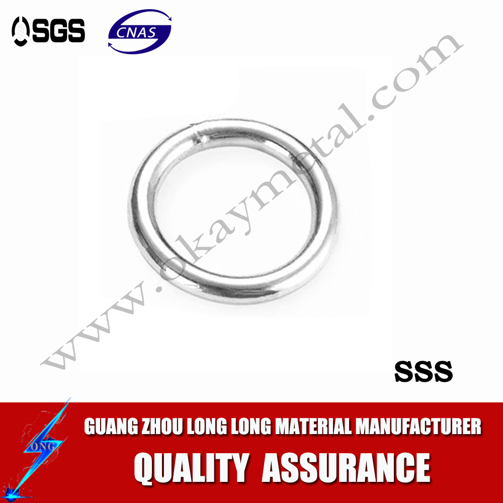 Marine 316 Stainless Steel Polished O - Ring smooth welded