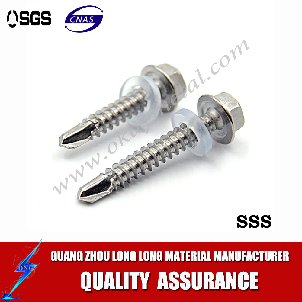 Oval Head Stainless Steel Sheet Metal Screw
