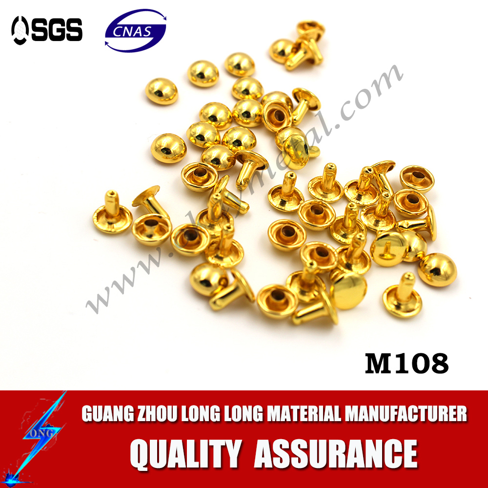 Wholesale Custom metal logo brass eyelets and grommets