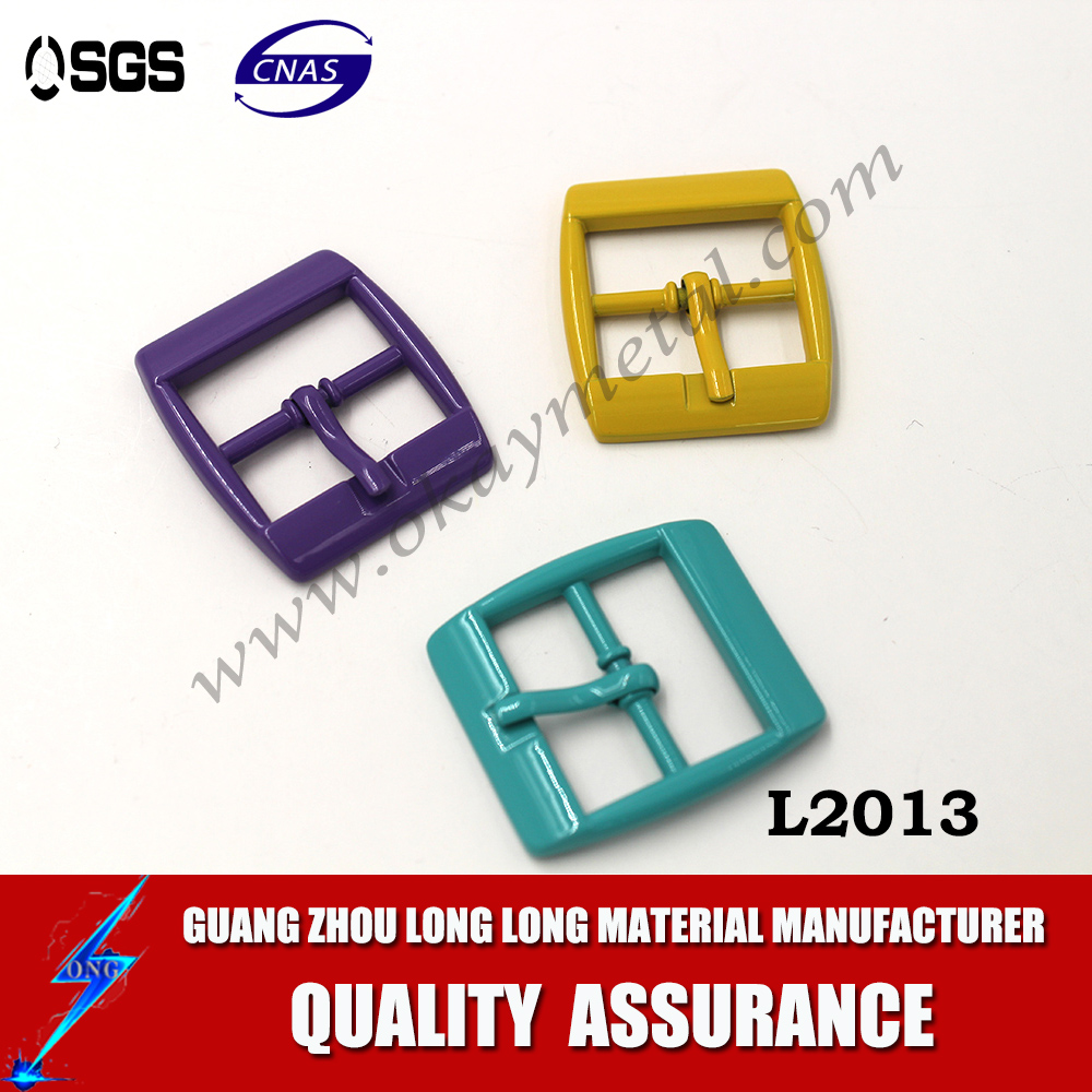 Colorful metal china shoe buckle