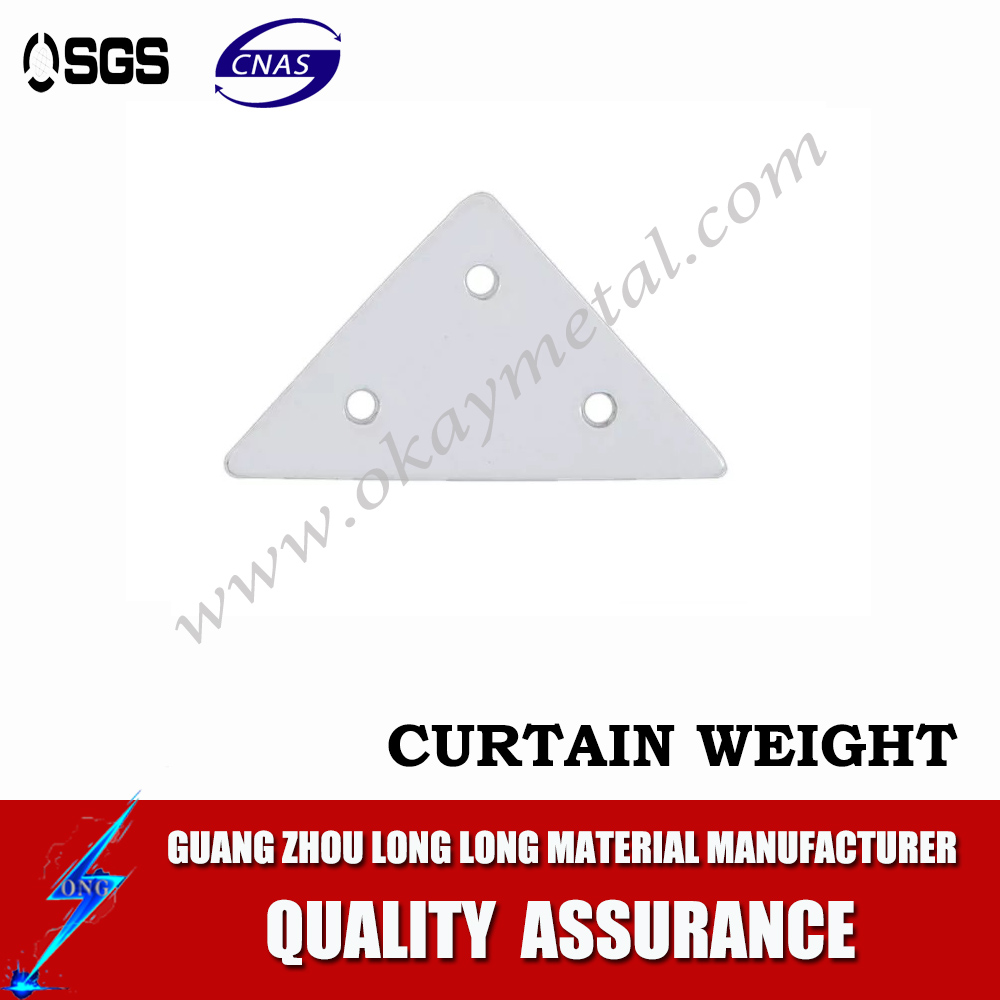 high quality curtain lead weight shaped curtain weight