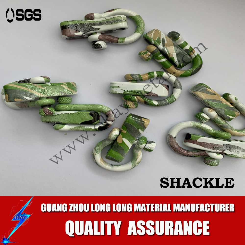 rainbow colorful printing shackles Popular D Shackle With Various Styles,D Type Shackle