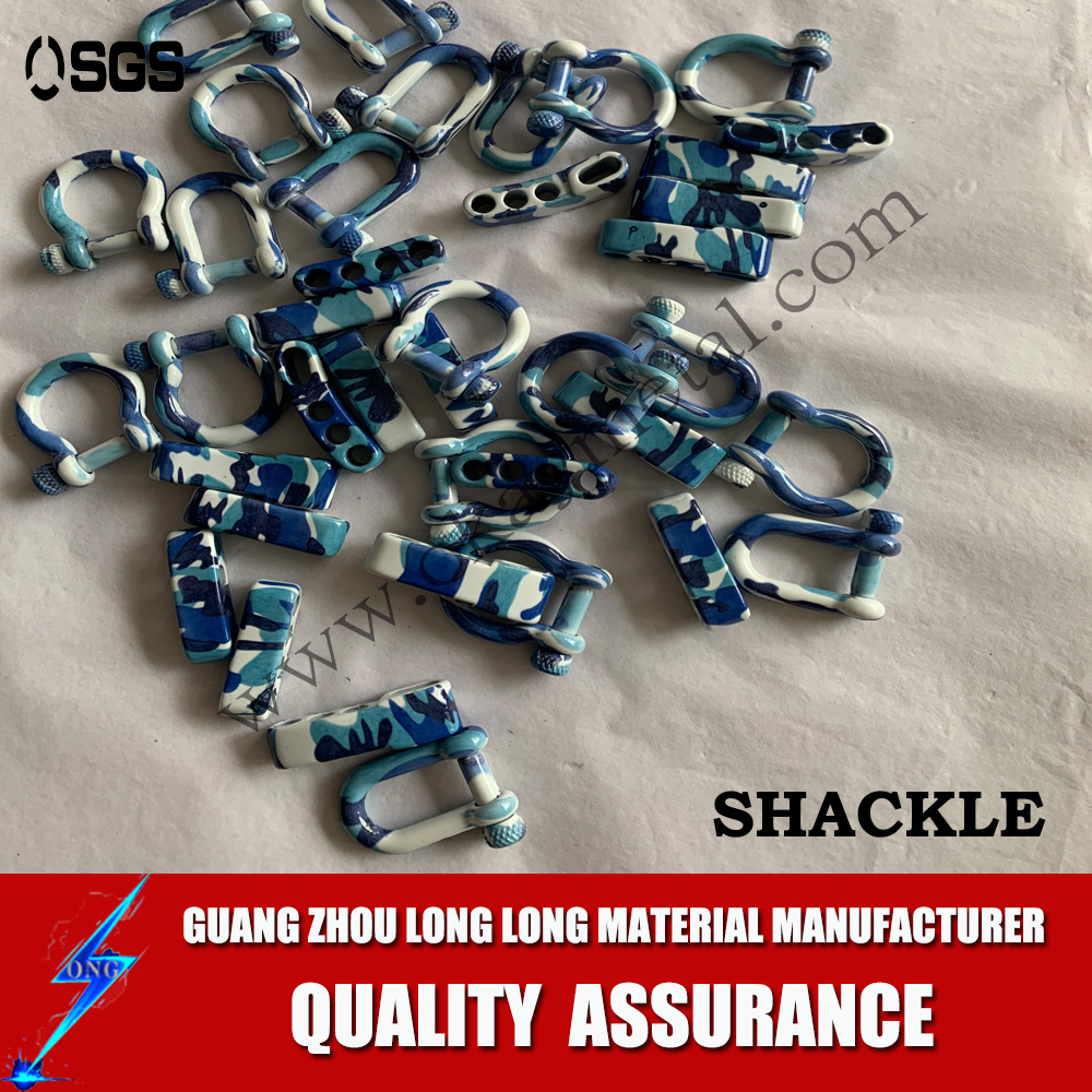 print shackles ,rainbow colorful printing shackles Popular D Shackle With Various Styles,D Type Shackle
