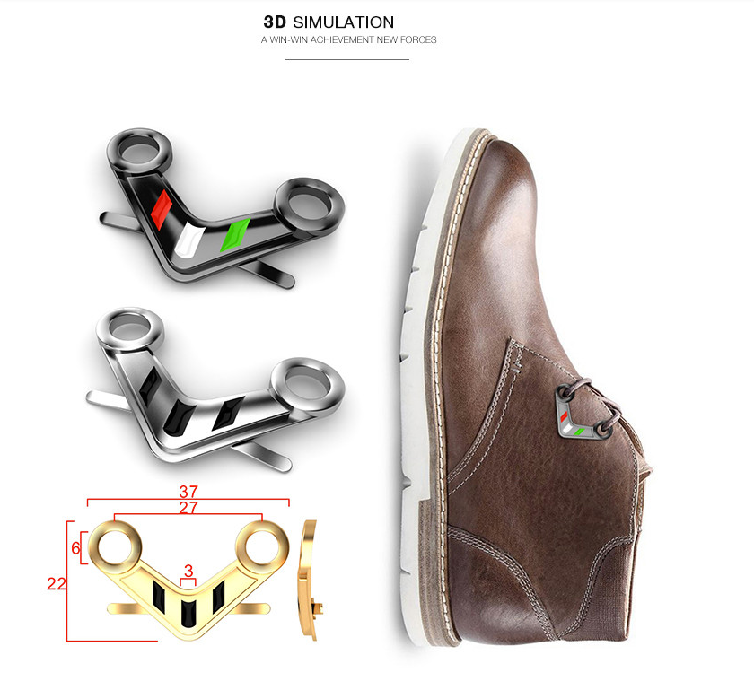 Metal Shoes Accessories Shoe Decorations